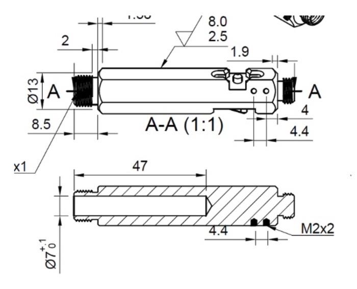 Titanium EDC pen