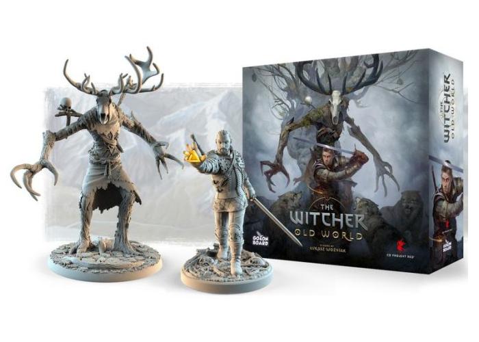 Witcher board game Kickstarter