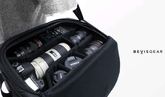 Top Shelf fast access camera bag offers near instant access to your gear - Geeky Gadgets