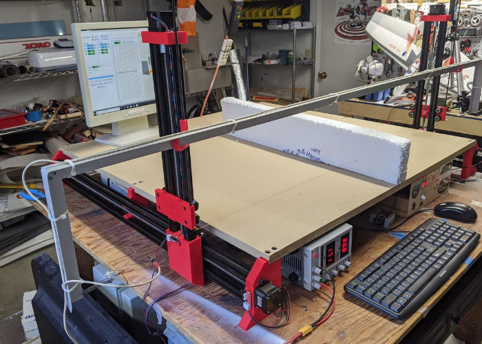Hotwire desktop CNC machine kit
