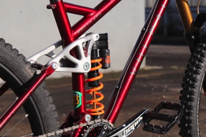 downhill mountain bike frame
