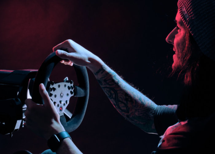 force feedback steering wheel