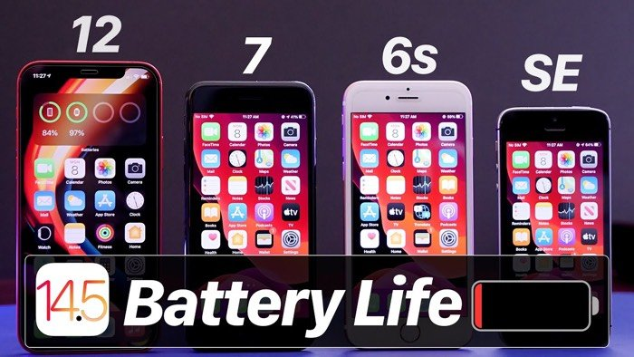 iOS 14.5 beta 1 battery life