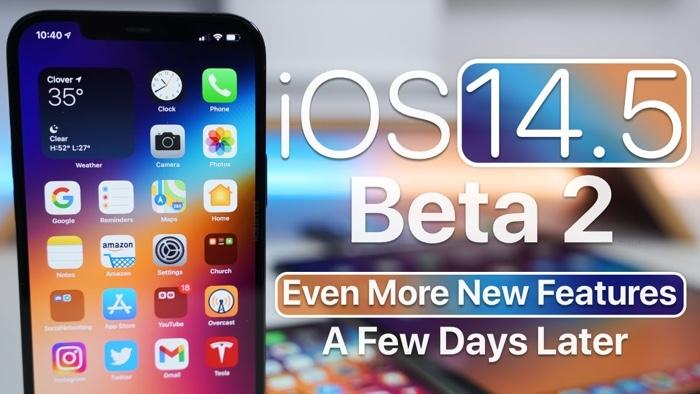 iOS 14.5 beta 2
