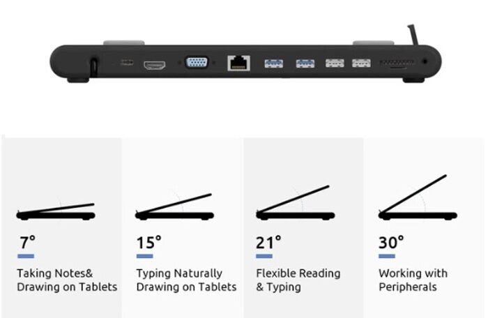 tablet and laptop stand angles