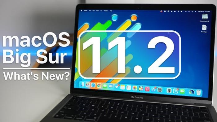 macOS Big Sur 11.2