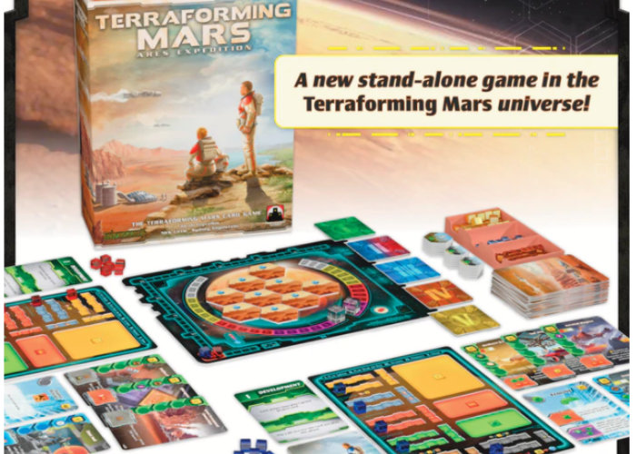 | terraforming Mars card game | Stronghold Games | Stronghold Games Mars card game