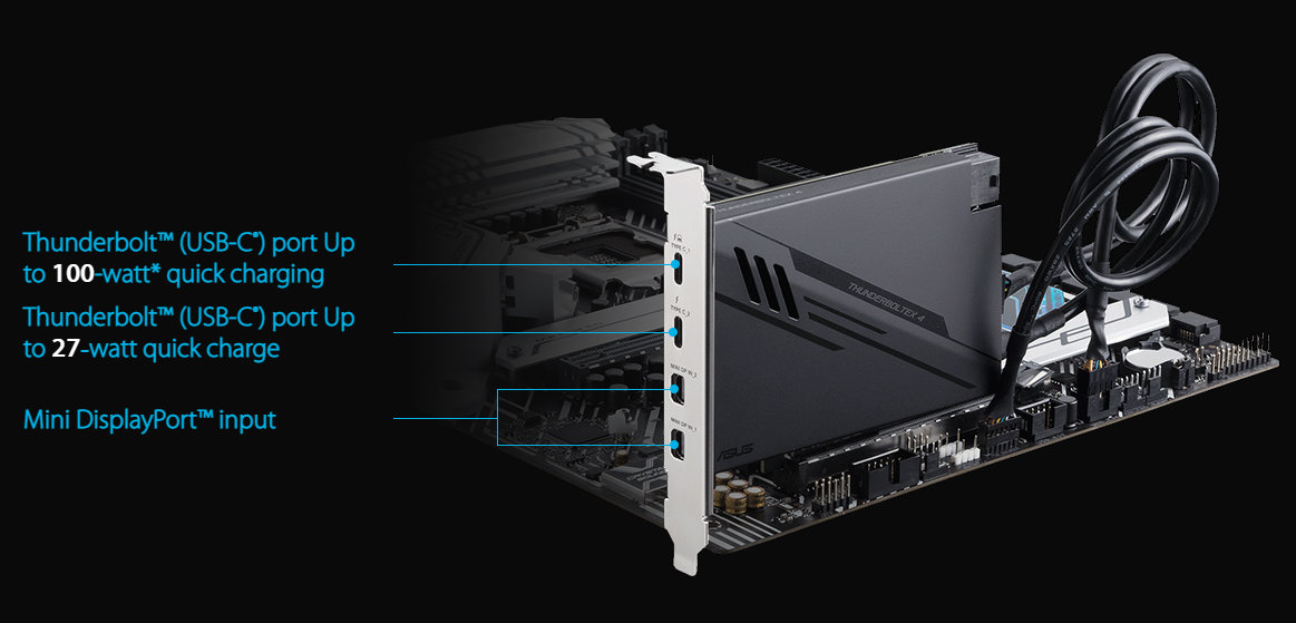 ASUS ThunderboltEX 4 expansion card