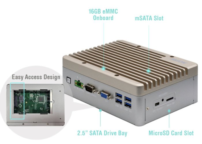 BOXER-8253AI mini PC