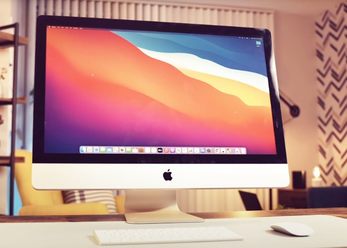 DIY Apple iMac powered by M1 Silicon
