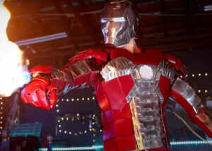 Iron Man briefcase suit cosplay