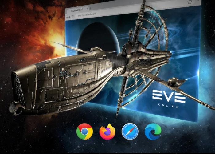 EVE Online Anywhere