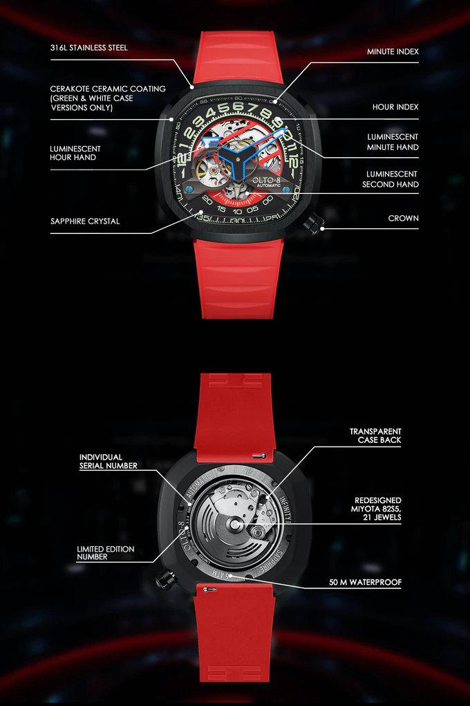 Infinity II mechanical automatic watch