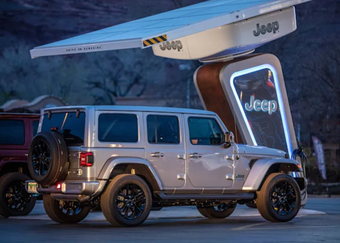 Jeep EV chargers