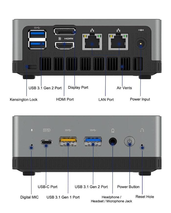 MINISFORUM UM340 mini PC