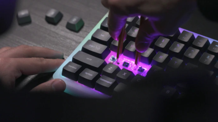 Marsback mechanical keyboard
