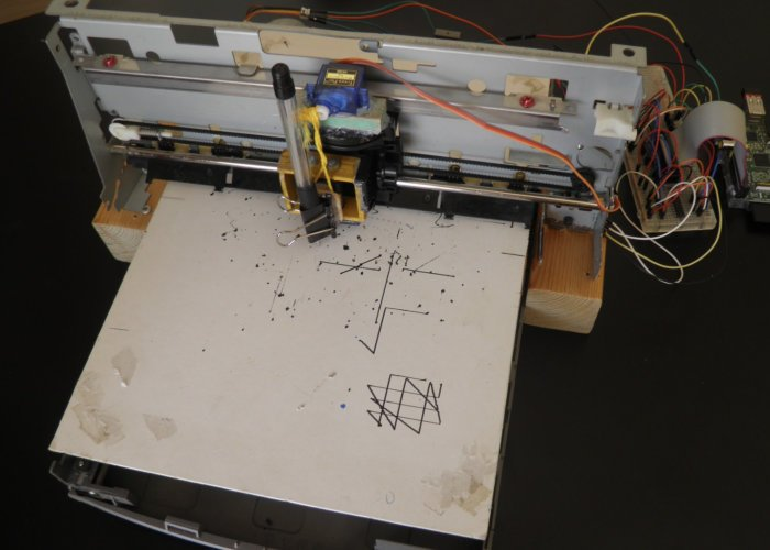 Raspberry Pi CNC Plotter