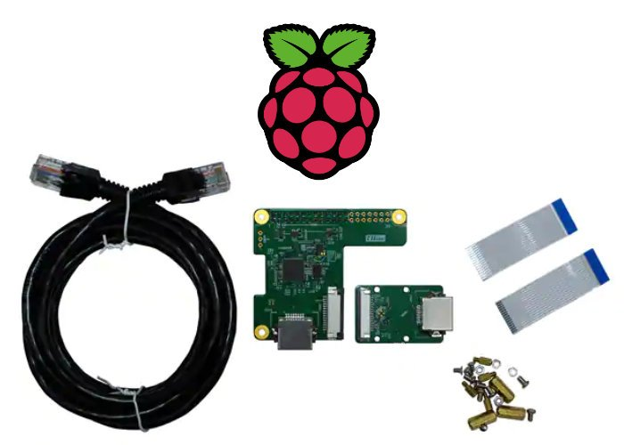 THine Raspberry Pi camera 20m LAN cable extension kit
