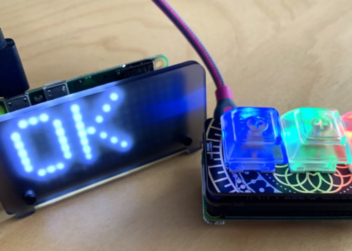 Raspberry Pi do not disturb sign project