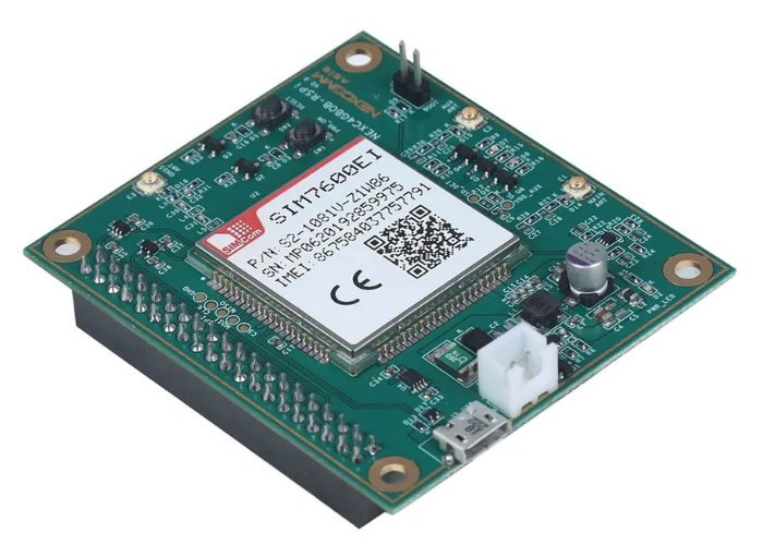 SIM7600 4G LTE Raspberry Pi HAT