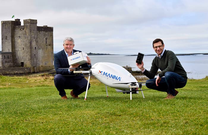 Samsung Manna Drone Delivery
