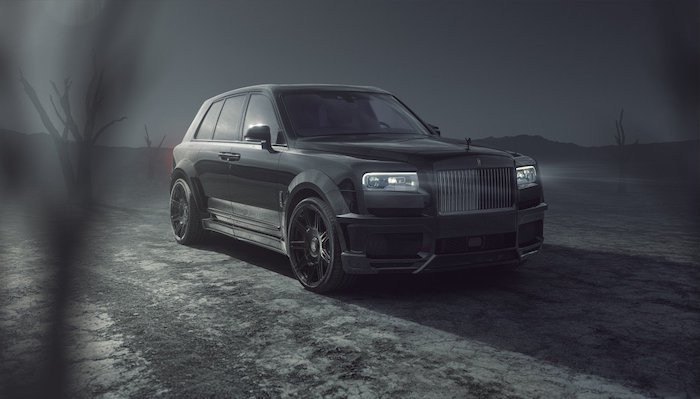 Spofec Rolls-Royce Black Badge Cullinan
