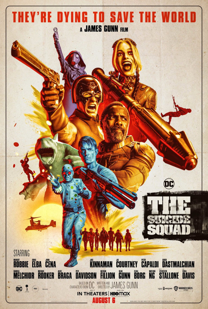 Suicide Squad Red Band poster