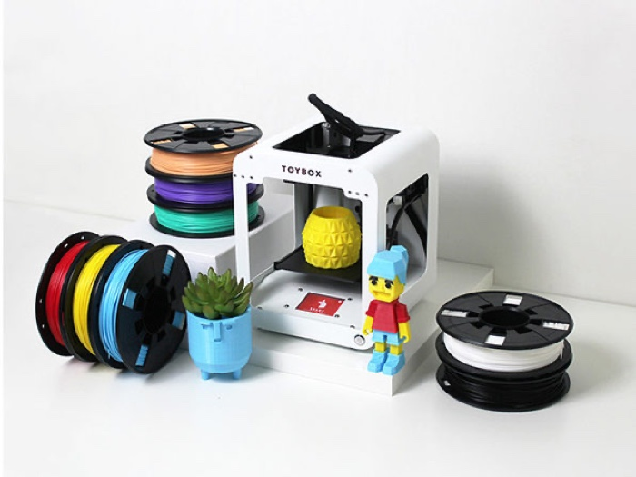Toybox 3D Printer Deluxe Bundle