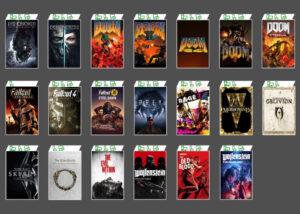 Xbox Game Pass Bethesda games