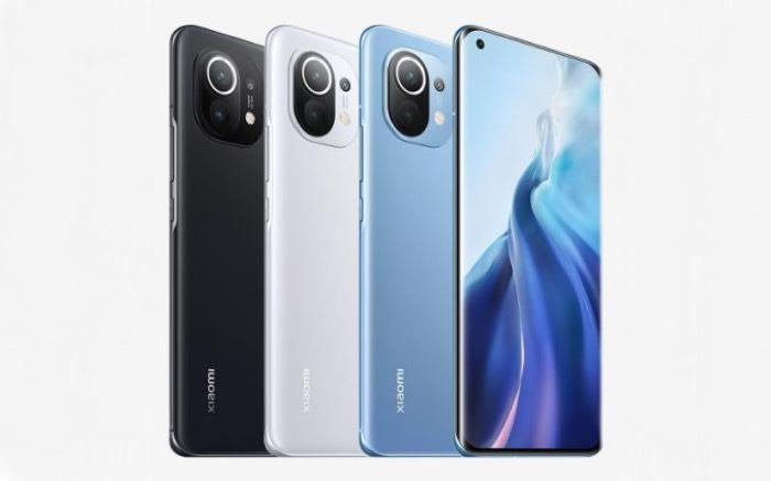 Xiaomi Mi 11 smartphones