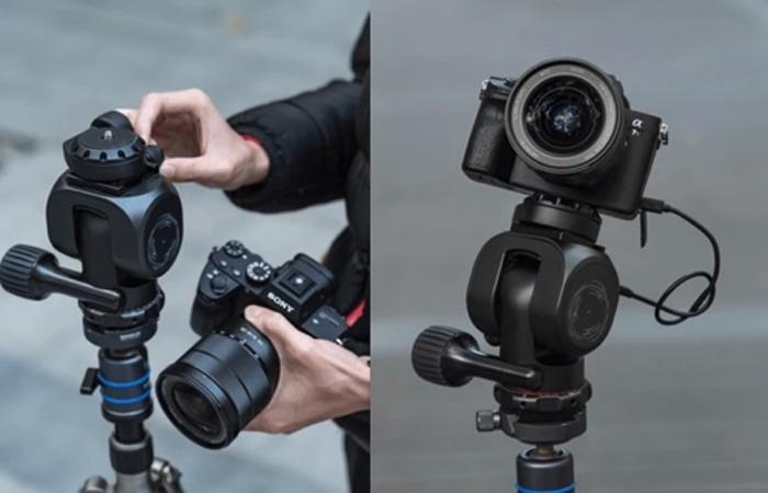 camera tripod head