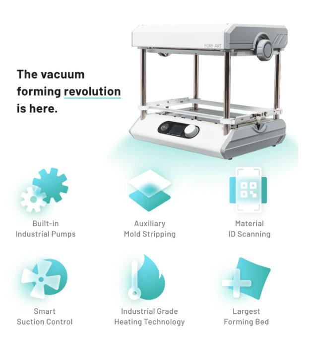 desktop vacuum former