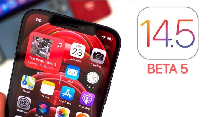 iOS 14.5 beta 5