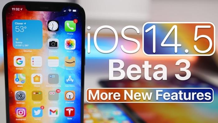 iOS 14.5 beta 3