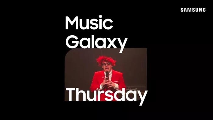 Samsung Music Galaxy Thursday