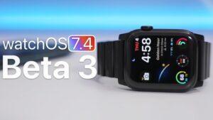 watchOS 7.4 beta 3