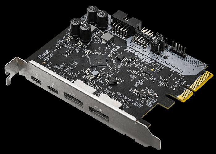 ASRock Thunderbolt 4 AIC card unveiled