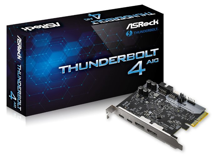 ASRock Thunderbolt 4 card