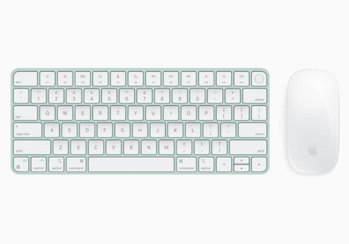 Apple iMac 24 inch keyboard