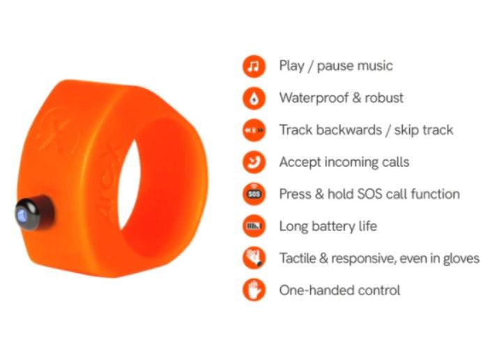 ArcX fitness smart ring