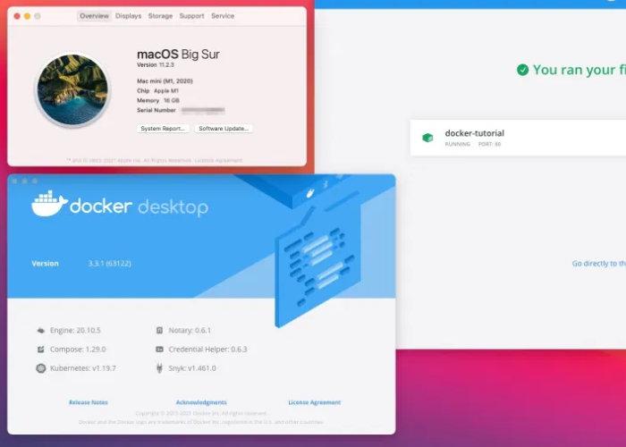 Docker Mac Apple M1 Silicon