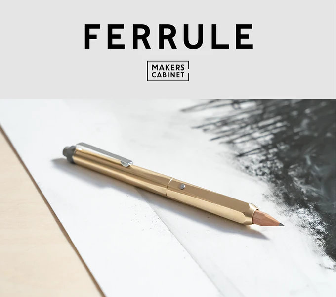 Ferrule pencil holder