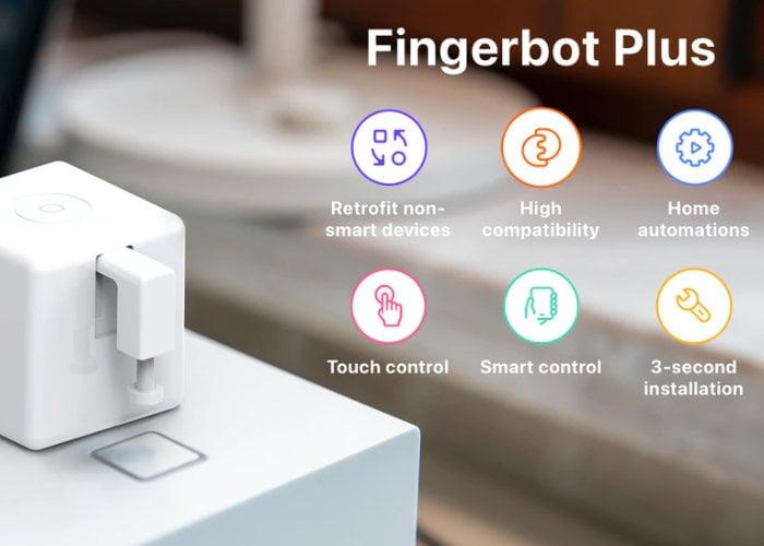 Fingerbot Plus robot button pusher