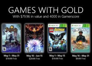 three Xbox games