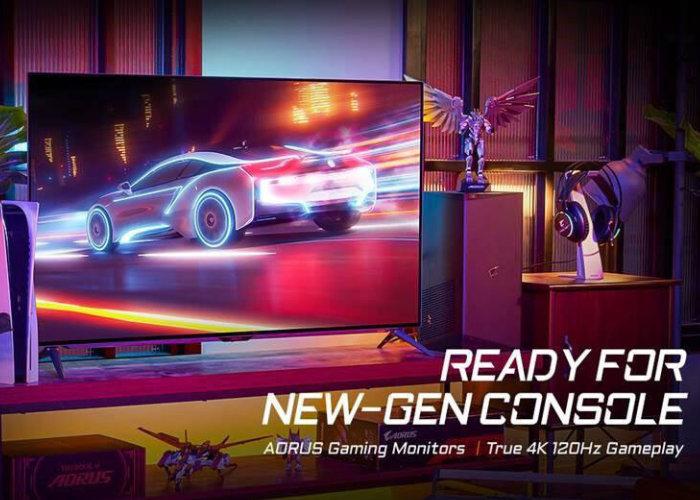 GIGABYTE Aorus 4K console gaming monitor