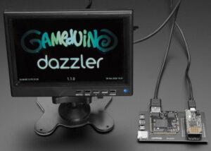 Gameduino 3X Dazzler for Feather M4