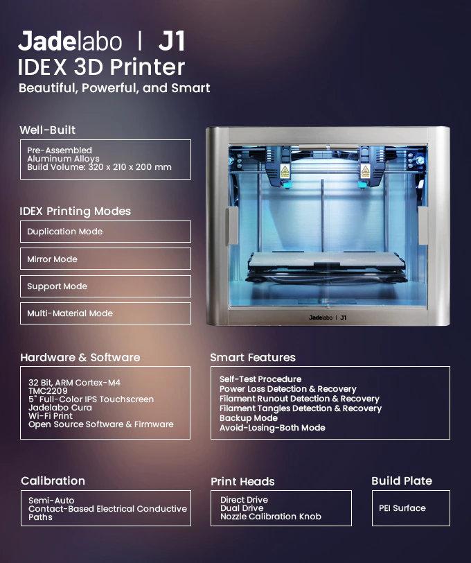 IDEX 3D printer