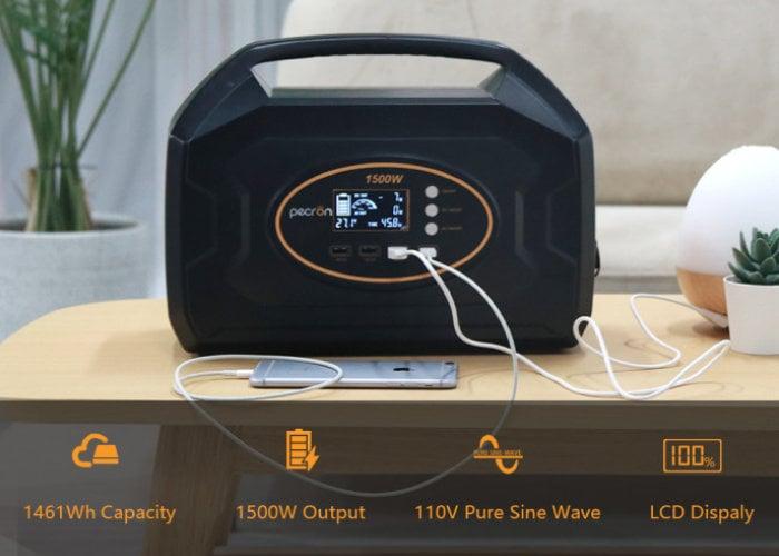 Pecron S1500 portable power station