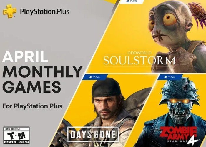 PlayStation Plus April 2021 games