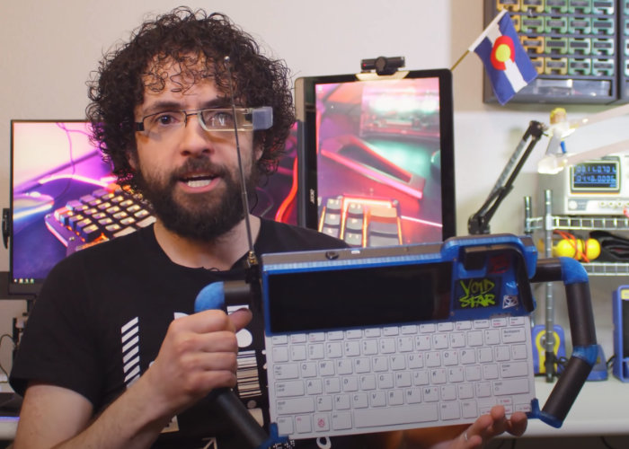 Raspberry Pi cyberdeck